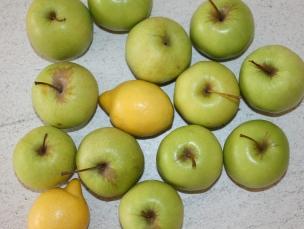Lemon Apple Sherbet with Raspberry Ice | www.theolivetreekitchen.com