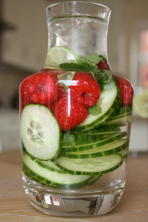 Summer Infused Water | www.theolivetreekitchen.com